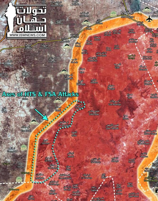 Phản công thảm họa, phiến quân Al-Qaeda Syria mất cả tướng lẫn xe ảnh 4