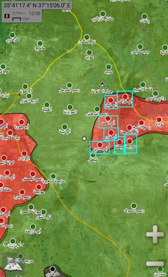 """Chiếm 6 thị trấn, vệ binh cộng hòa sắp hội quân với """"Hổ Syria"""" tại Idlib ảnh 2"""