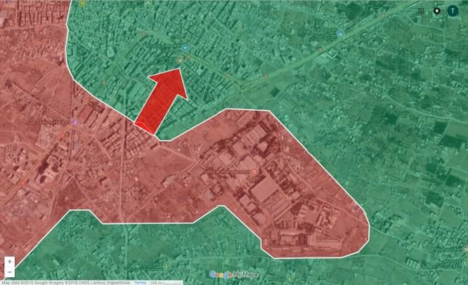 Cuộc chiến đường hầm, đô thị đẫm máu tại tử địa Đông Ghouta, Syria ảnh 1