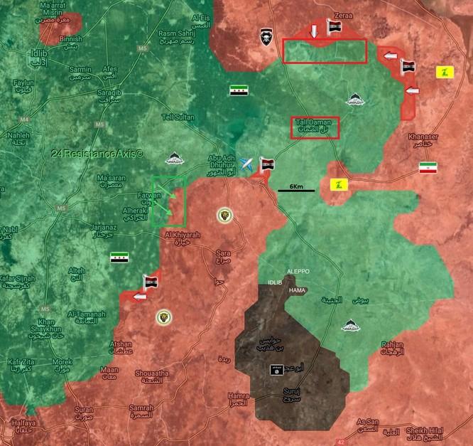 Nga phủ ô hỏa lực, quân Syria chiếm lại 20 khu dân cư ở Aleppo ảnh 1