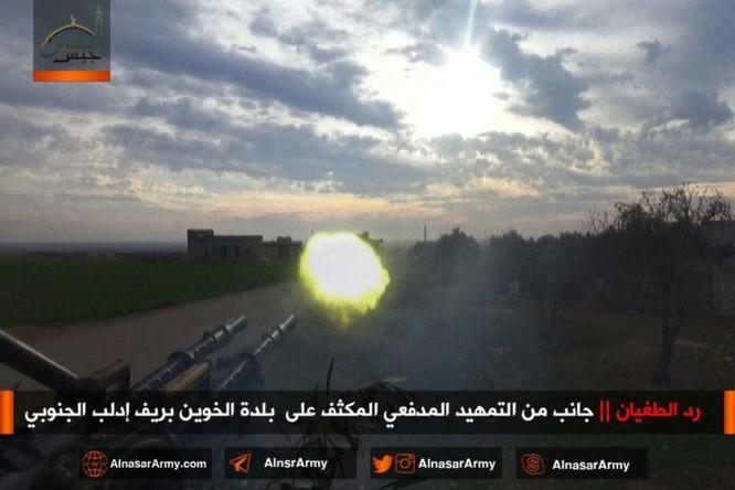 """""""Hổ Syria"""" đè bẹp địch đoạt hàng chục cứ địa, khủng bố công khai sử dụng vũ khí hóa học ảnh 8"""