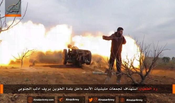 """""""Hổ Syria"""" đè bẹp địch đoạt hàng chục cứ địa, khủng bố công khai sử dụng vũ khí hóa học ảnh 9"""