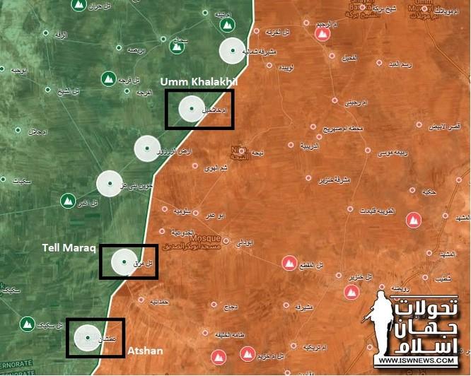 Quân đội Syria thảm bại, mất 21 địa bàn tại chảo lửa Idlib vì vắng Nga ảnh 1
