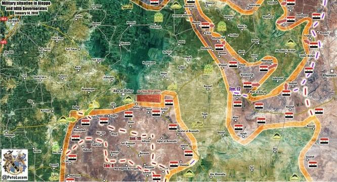 Quân đội Syria tràn tới đoạt hơn 30 cứ địa, khủng bố tháo chạy khỏi nam Aleppo ảnh 1