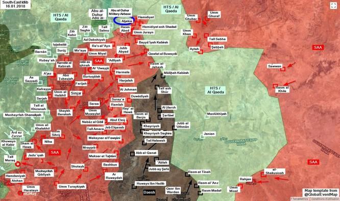 """""""Hổ Syria"""" nghiền nát phiến quân, sắp chiếm thị trấn chiến lược ở Idlib ảnh 1"""