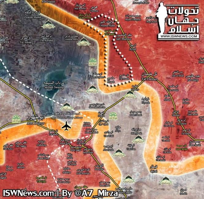 Quân đội Syria đánh xốc tới căn cứ sân bay, truy diệt phiến quân ở nam Aleppo ảnh 1