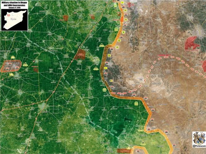 Nga dồn dập không kích, quân đội Syria sắp hạ gục khủng bố ở sân bay chiến lược ảnh 1