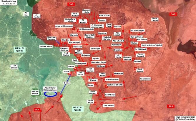 Quân đội Syria đột phá sào huyệt Idlib, uy hiếp bao vây cả 2 nhóm khủng bố tại Hama ảnh 1