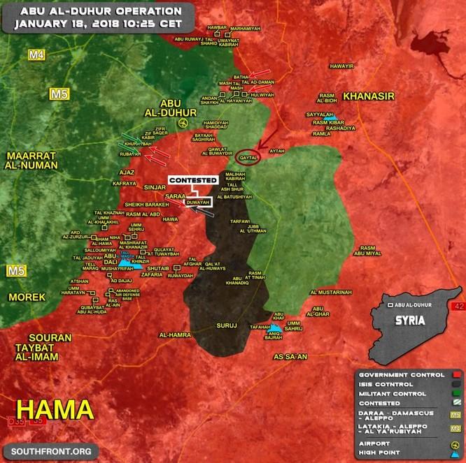 Quân đội Syria vây khốn phiến quân tại Aleppo bất chấp thời tiết xấu ảnh 1