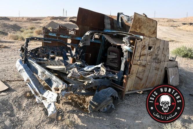 Đặc nhiệm Syria phóng tên lửa diệt xe bom tự sát IS ảnh 1