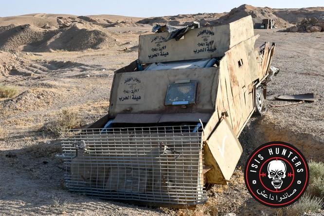 Đặc nhiệm Syria phóng tên lửa diệt xe bom tự sát IS ảnh 2