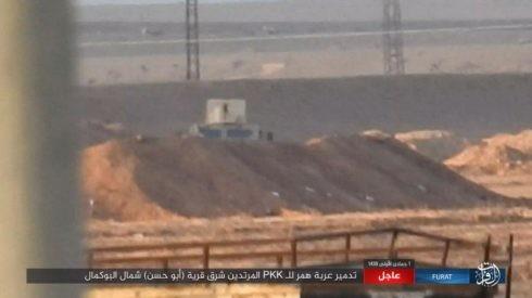 IS ác chiến đẫm máu người Kurd Syria trên chiến trường Euphrates ảnh 1