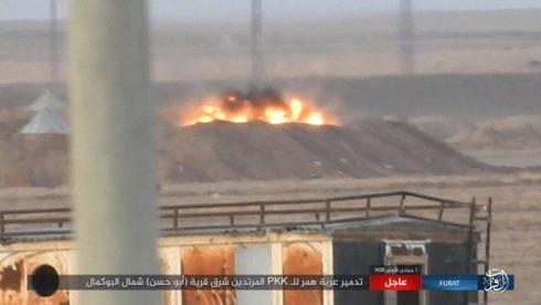IS ác chiến đẫm máu người Kurd Syria trên chiến trường Euphrates ảnh 3