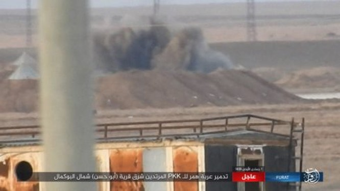 IS ác chiến đẫm máu người Kurd Syria trên chiến trường Euphrates ảnh 4