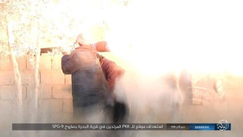 IS ác chiến đẫm máu người Kurd Syria trên chiến trường Euphrates ảnh 5