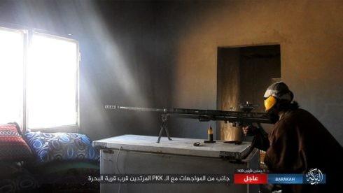 IS ác chiến đẫm máu người Kurd Syria trên chiến trường Euphrates ảnh 7