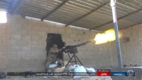 IS ác chiến đẫm máu người Kurd Syria trên chiến trường Euphrates ảnh 8