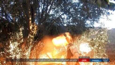 IS ác chiến đẫm máu người Kurd Syria trên chiến trường Euphrates ảnh 9