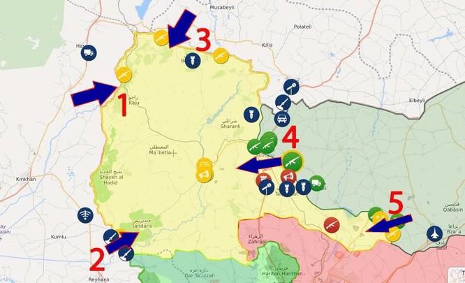 Giao tranh bùng phát dữ dội giữa người Kurd và quân đội Thổ Nhĩ Kỳ ở biên giới Syria ảnh 1