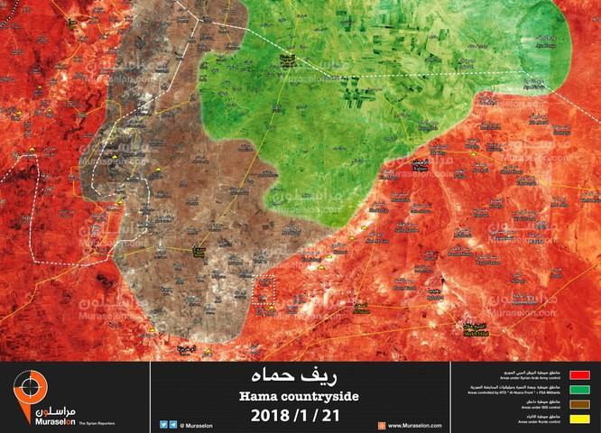 Quân đội Syria cùng đồng minh hiệp đồng đánh diệt IS tại Hama ảnh 1