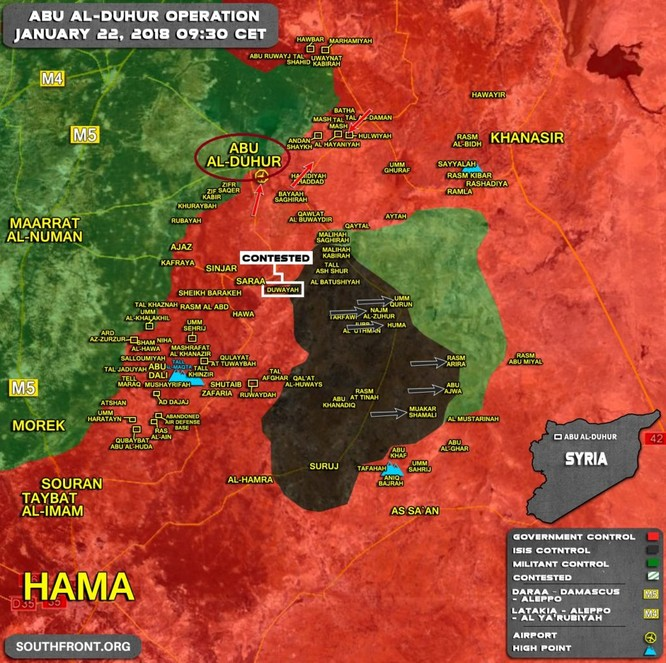 """Hổ Syria"" tả xung hữu đột tại Idlib, quân Assad vây khốn IS, Al Qaeda ảnh 1"