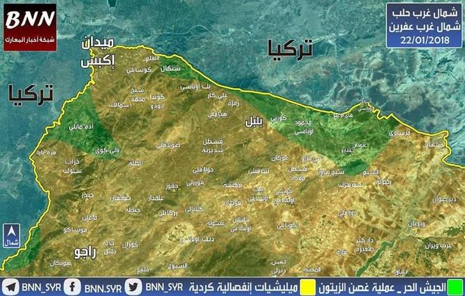 """Thổ Nhĩ Kỳ xua quân chiếm 11 khu dân cư Syria, Nga """"im lặng"""" khó hiểu ảnh 1"""