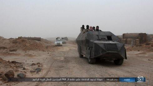 IS đánh người Kurd điên đảo ở Deir Ezzor, hàng trăm tay súng hai bên thiệt mạng ảnh 7