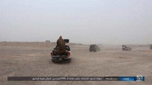 IS đánh người Kurd điên đảo ở Deir Ezzor, hàng trăm tay súng hai bên thiệt mạng ảnh 9