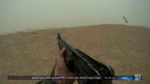IS đánh người Kurd điên đảo ở Deir Ezzor, hàng trăm tay súng hai bên thiệt mạng ảnh 12