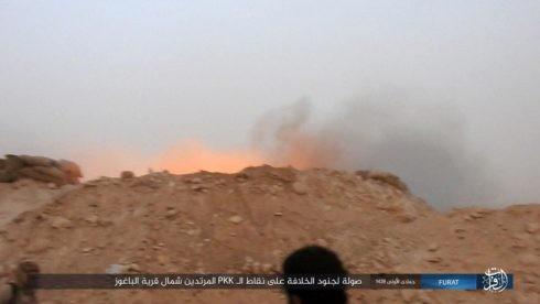 IS đánh người Kurd điên đảo ở Deir Ezzor, hàng trăm tay súng hai bên thiệt mạng ảnh 14