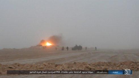IS đánh người Kurd điên đảo ở Deir Ezzor, hàng trăm tay súng hai bên thiệt mạng ảnh 15