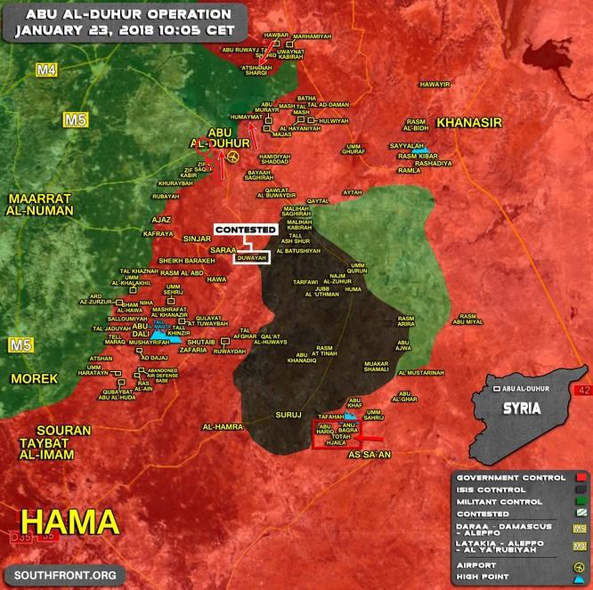 """""""Hổ Syria"""" nghiền nát địch, chiếm 6 cứ địa phiến quân tại tử địa Idlib ảnh 1"""