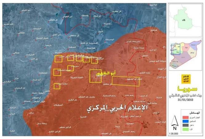 Quân đội Syria càn quét đoạt 15 cứ địa phiến quân, 65 km2 lãnh thổ ở Idlib ảnh 1