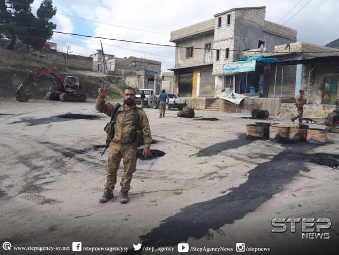 Thổ Nhĩ Kỳ đoạt thị trấn chiến lược, 24 chiến binh Kurd thiệt mạng ảnh 2