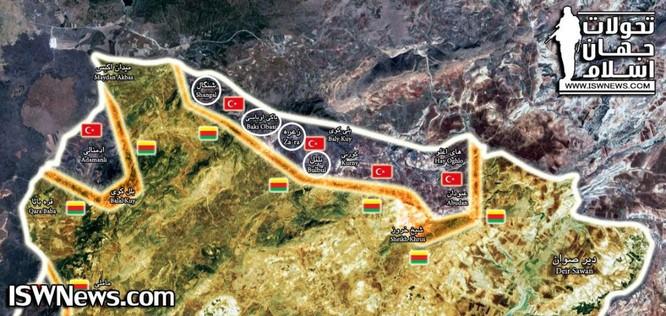 Quân Thổ chiếm thị trấn chiến lược, người Kurd tung đòn phản công ảnh 1