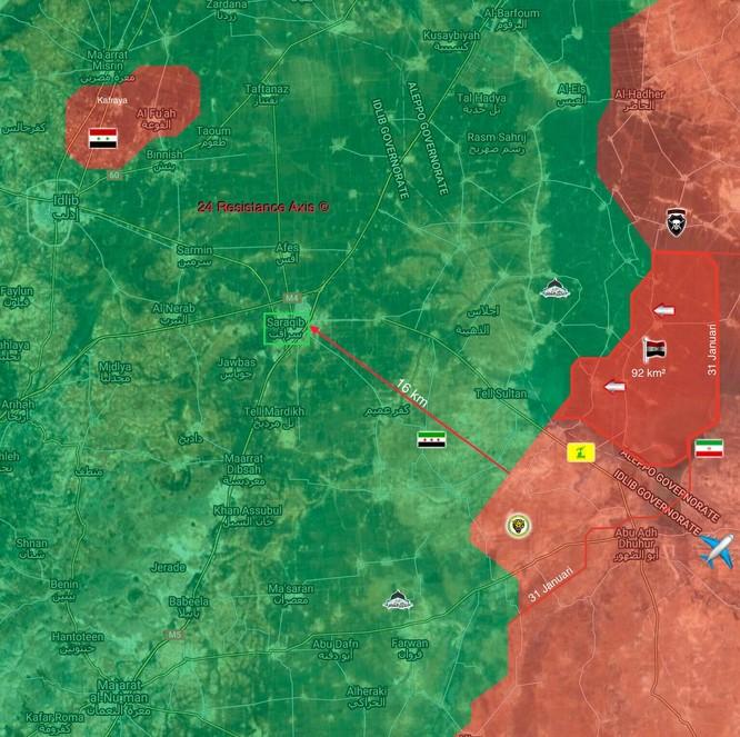 Quân đội Syria xốc tới đập tan phiến quân, giải phóng 92 km2 lãnh thổ ở Idlib ảnh 1