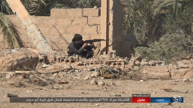 IS quần người Kurd tơi bời tại Deir Ezzor, hàng loạt chiến binh Kurd thiệt mạng ảnh 5