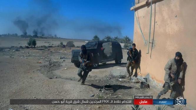 IS quần người Kurd tơi bời tại Deir Ezzor, hàng loạt chiến binh Kurd thiệt mạng ảnh 8