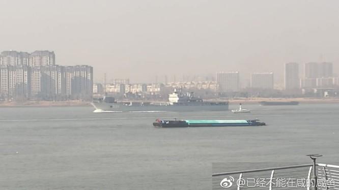 Dằn mặt hải quân Mỹ, Trung Quốc thử pháo điện từ trên biển ảnh 3