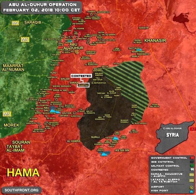 """""""Hổ Syria"""" đè bẹp phiến quân đoạt 2 thị trấn chiến lược, vây khốn khủng bố ở Idlib ảnh 1"""