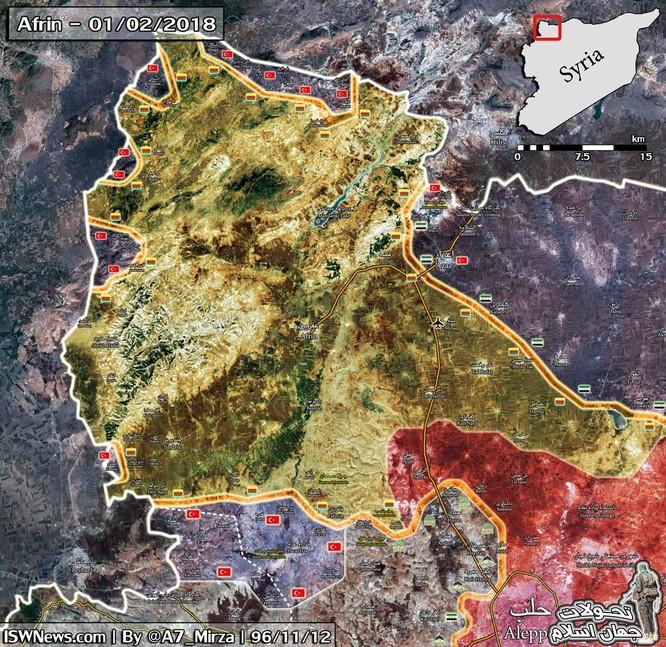 Thổ Nhĩ Kỳ ồ ạt đánh chiếm Afrin, người Kurd Syria trước lựa chọn sinh tử ảnh 1
