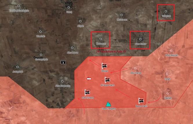 Quân Syria nghiền nát IS, chiếm 3 cứ địa khủng bố tại đông bắc Hama ảnh 1