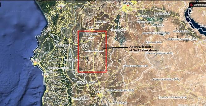 Nga phóng bão lửa Kalibr trả thù Su-25 bị bắn rơi tại Syria ảnh 1