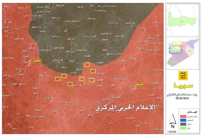 """""""Hổ Syria"""" chủ công xung trận chiếm 7 cứ địa IS trên chiến trường Hama ảnh 1"""