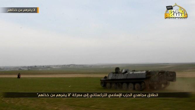 Phiến quân Syria người Duy Ngô Nhĩ phản công trên tuyến lửa Idlib ảnh 2