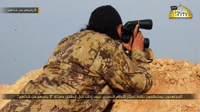 Phiến quân Syria người Duy Ngô Nhĩ phản công trên tuyến lửa Idlib ảnh 5