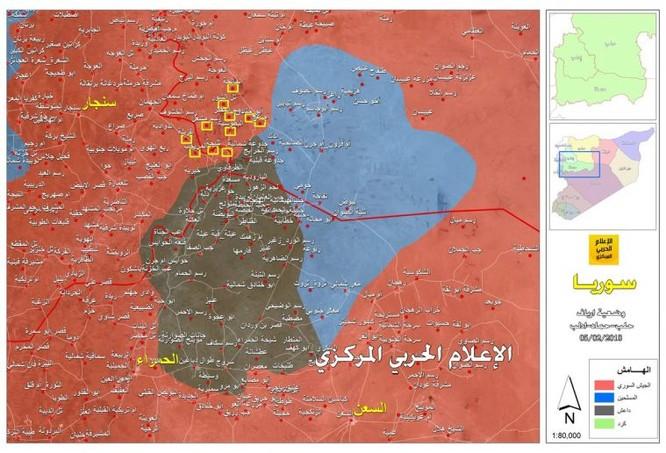 """""""Hổ Syria"""" ra đòn đè bẹp IS, giải phóng 45 cứ địa tại Hama trong một ngày ảnh 1"""