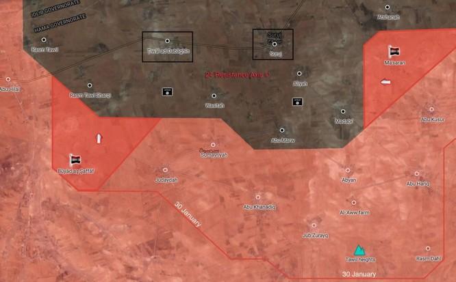 Quân đội Syria nghiền nát IS, chiếm 8 cứ địa ở đông bắc Hama ảnh 2