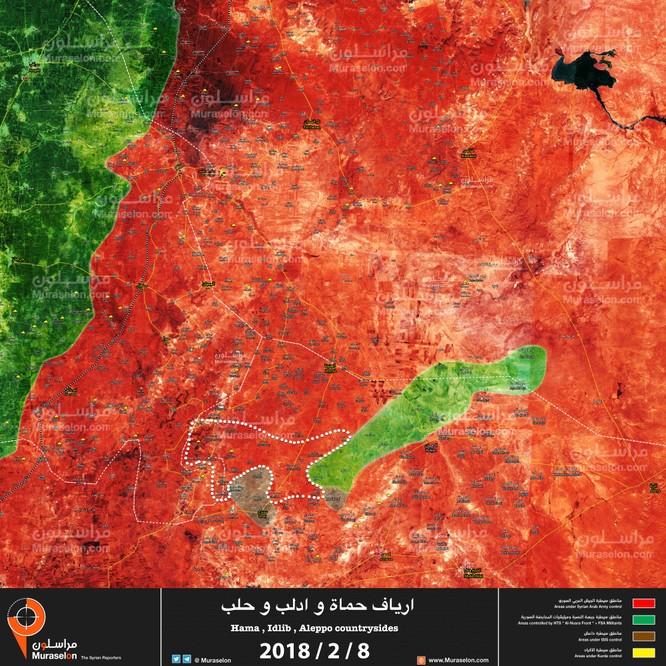 """Nga yểm trợ """"Hổ Syria"""" băm nát phiến quân, quét sạch hàng nghìn km2 lãnh thổ ảnh 1"""