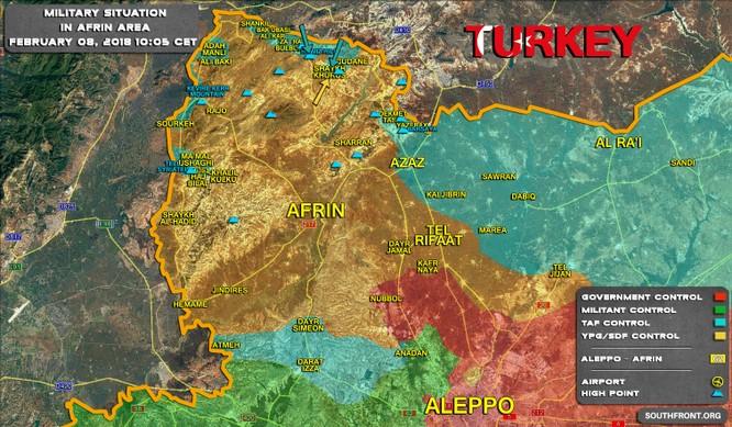 Người Kurd Syria ác chiến liên quân Thổ Nhĩ Kỳ tại Afrin ảnh 1